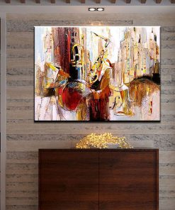 Party Show Abstract Modern Oil Painting
